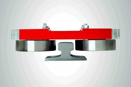 Guide Roller System with integrated damping pads / Standard type SFRS
