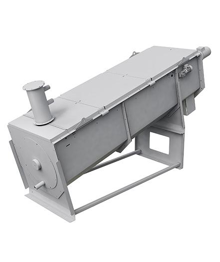 Sludge screw press